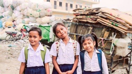 Little girls from Cambodja