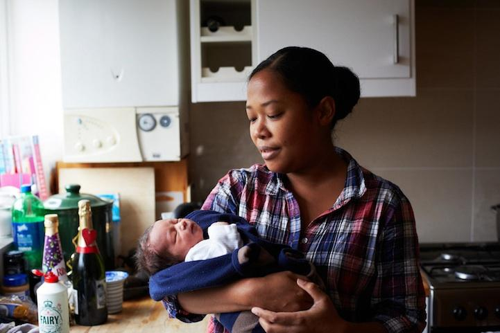 Mothers-with-their-one-day-old-babies-7