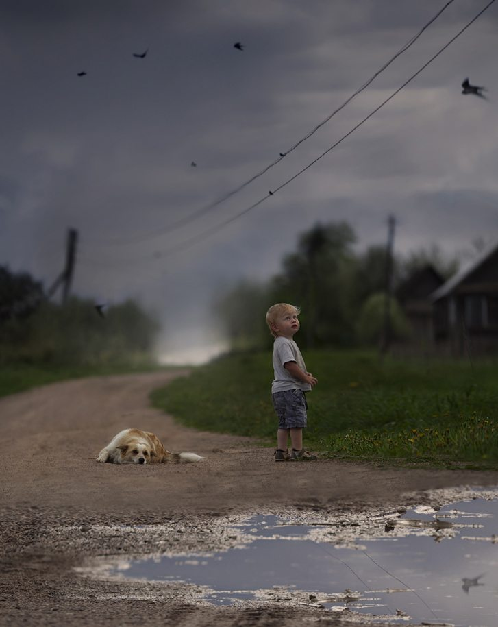 Photographs-of-countryside-children-and-animals-20