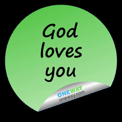 God loves you2