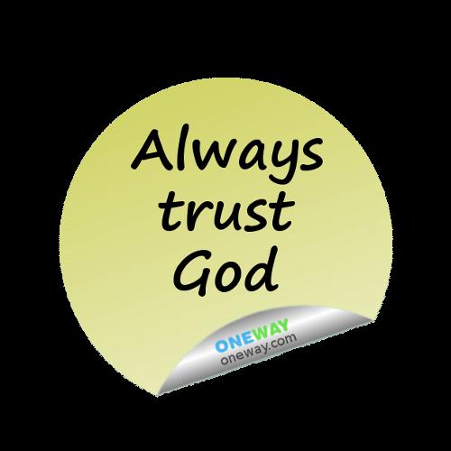 always-trust-God