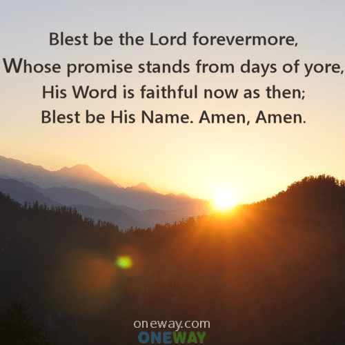 blessed-be-the-Lord