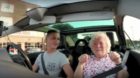 elderly-woman-hears-something-important-radio-makes-cry