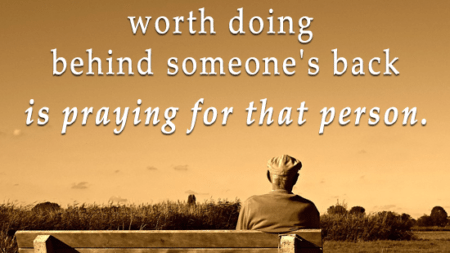 thing-worth-behind-someones-back-praying-person