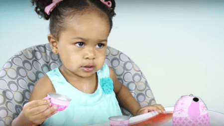 much-patience-father-need-teach-2-year-old-daughter-tea-drinking-lets-find