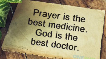 prayer-best-medicine-god-best-doctor