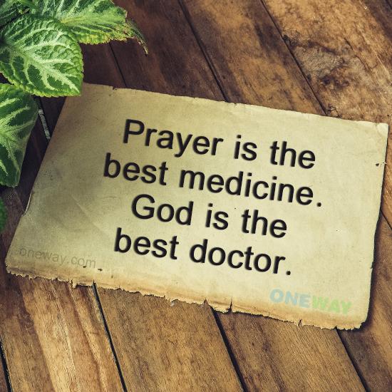 prayer-best-medicine-god-best-doctor